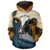 Farming Dairy Cow All-over Hoodie