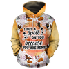 I Put A Spell On You Because You Are Mine  All-over Hoodie