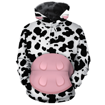 Cute Body Cow All-over Hoodie