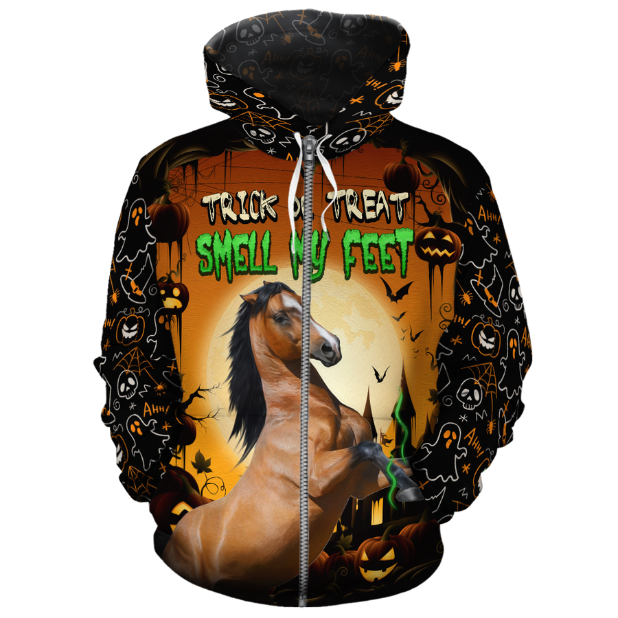 Trick Or Treat Horse All-over Hoodie