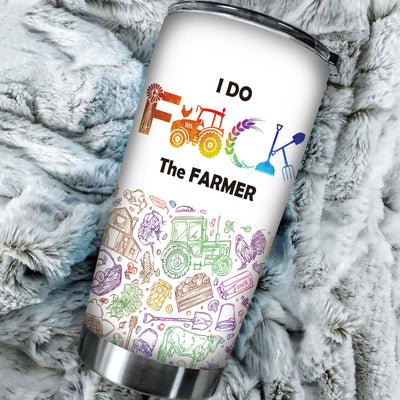 I Do F The Farmer Tumbler