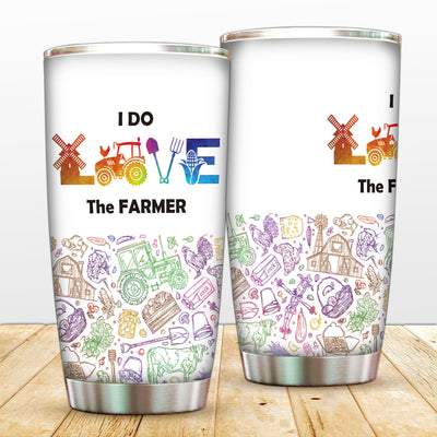 I Do Love The Farmer Tumbler