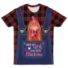 Just A Girl Who Loves Chickens T-shirt