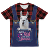 Just A Girl Who Loves Llamas T-shirt