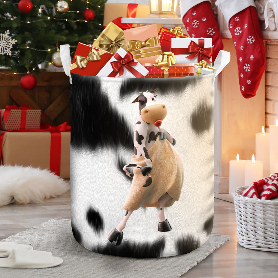 The Sexy Cow 2 Laundry Basket