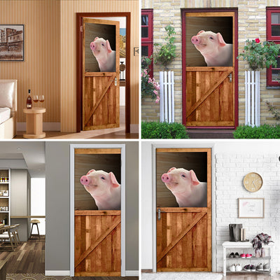Pig Barn Door Cover