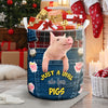 Just A Girl Who Loves Pigs Gift Basket