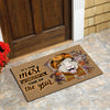 It's The Most Wonderful time Of The Year - Sheep Doormat