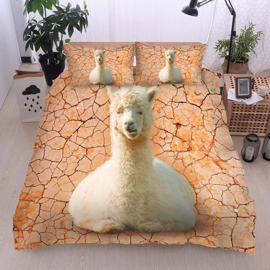 Sleepy Alpacas Bedding set