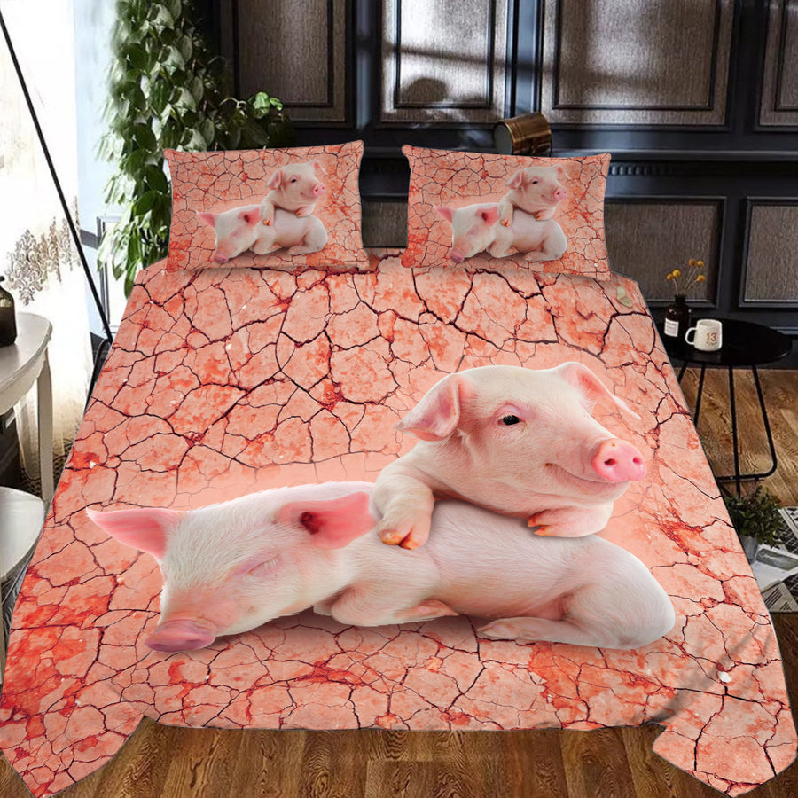 Sleepy Pigs Bedding Set - FREE SHIPPING