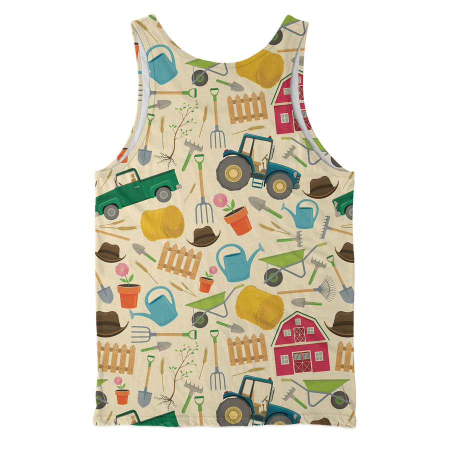 Tractor & Farming Tools Tank Top