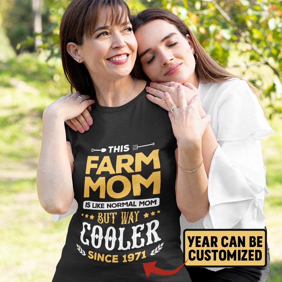 Personalized This Farm Mom Is Like Normal Mom But Way Cooler