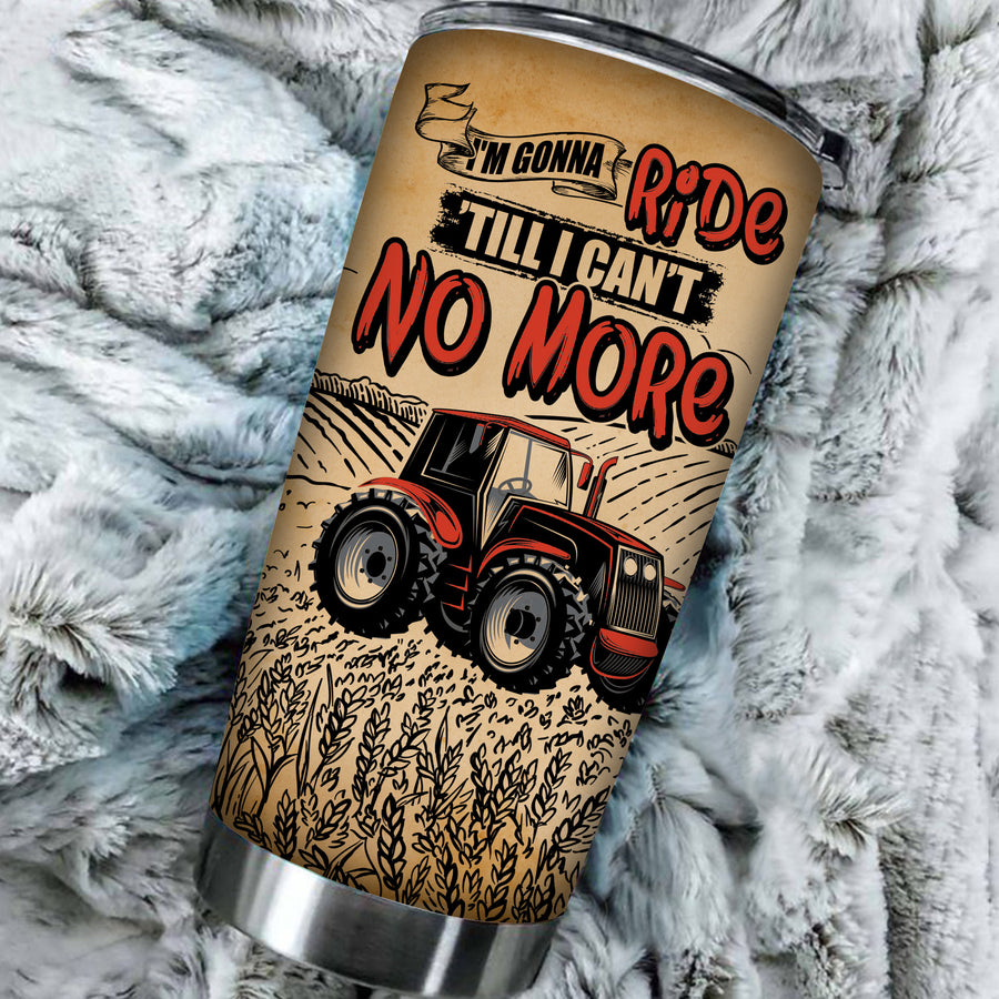 Personalized - I'm Gonna Ride 'Tll I Can't No More 1 Tumbler