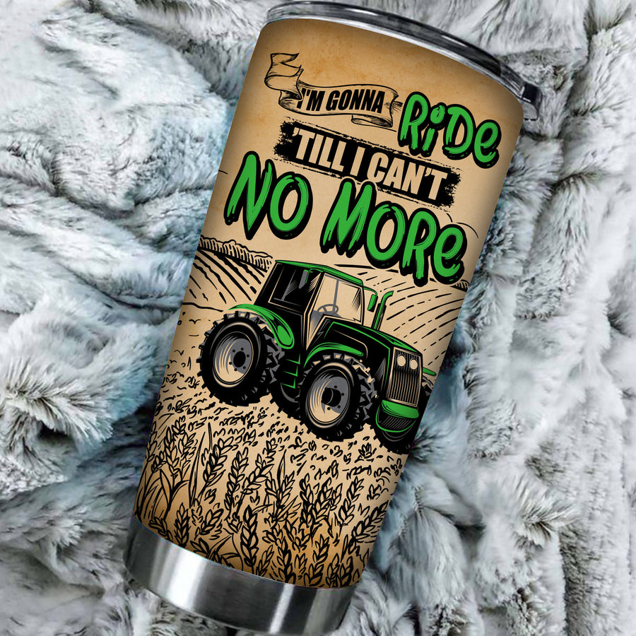 Personalized - I'm Gonna Ride 'Tll I Can't No More Tumbler