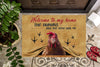 Welcome To My Home - Chicken Doormat