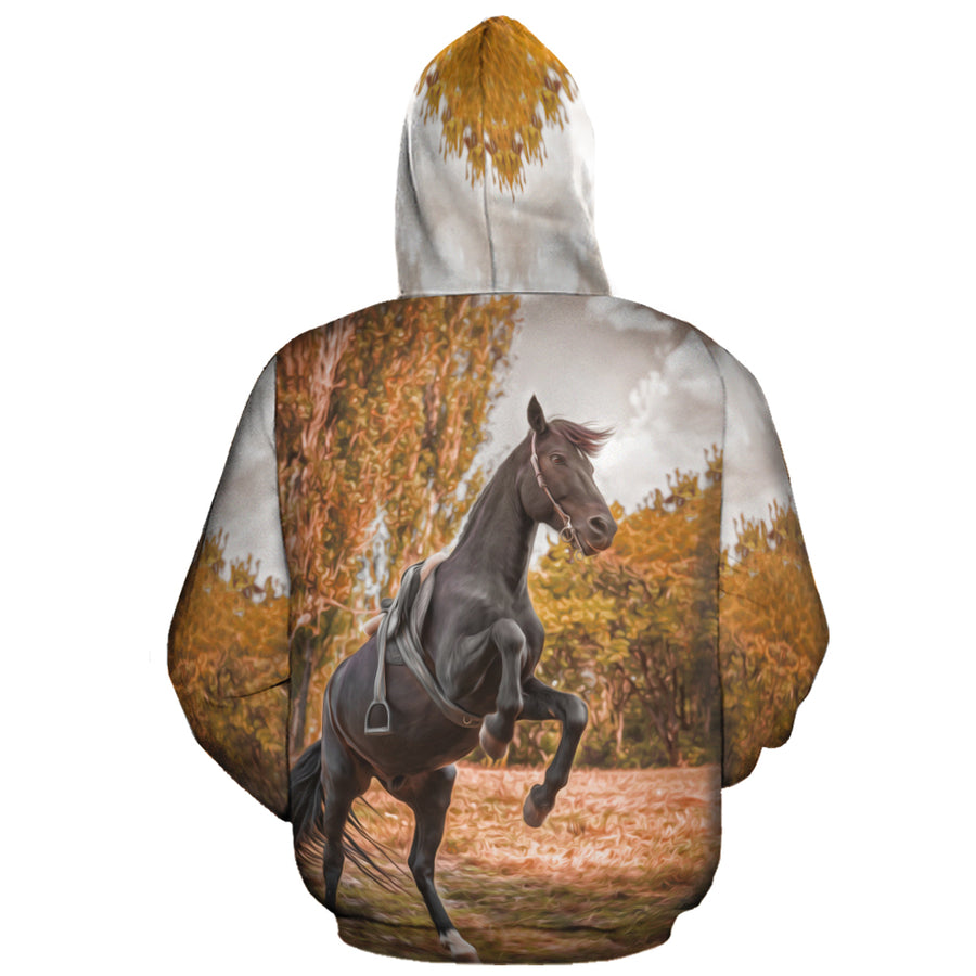 What Makes A Horse Racing All-over Hoodie