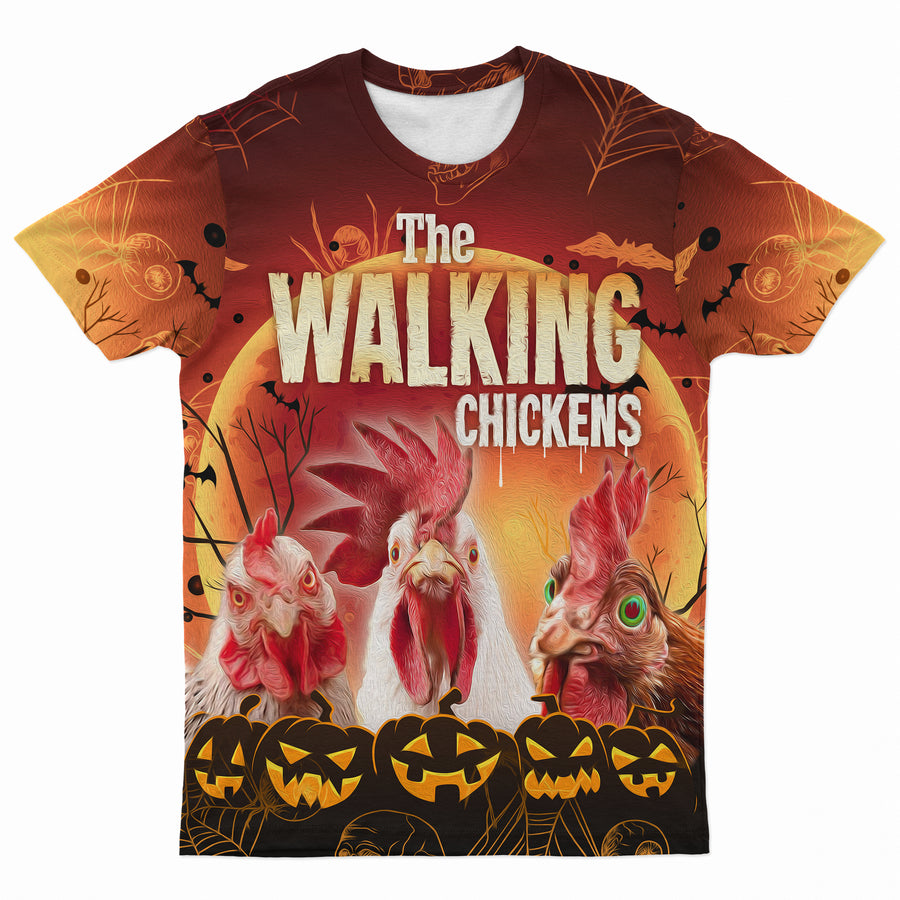 The Walking Chickens T-shirt