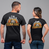 If Lost, Return to Farm Girl - Couple Shirts