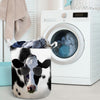 Cool Face Dairy Cow Laundry Basket