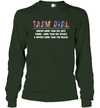 A Farm Girl Knows More Than She Says T-shirt