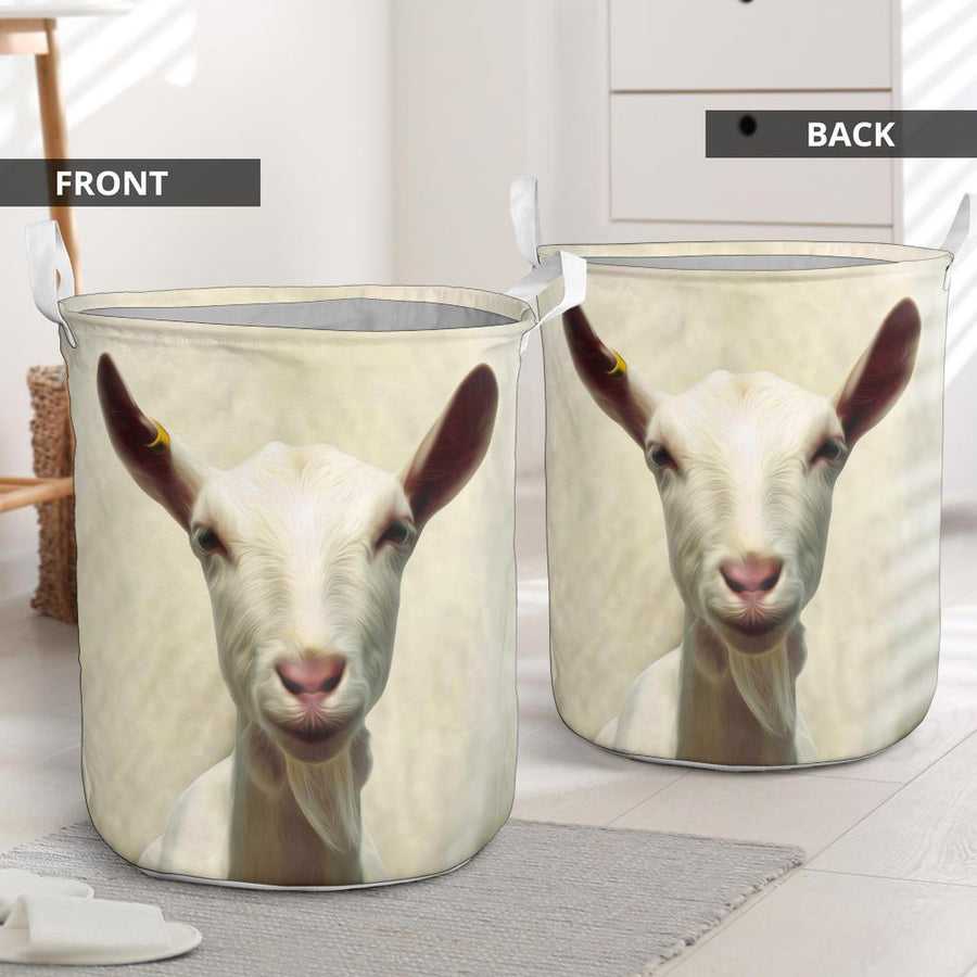 Cute Goat Face Gift Basket