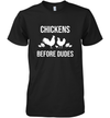 Chickens Before Dudes