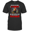 Never Underestimate A Farmer And Was Born In November  Chicken T Shirt