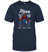 Personalized Mom With Daughter And Son 2D T Shirt