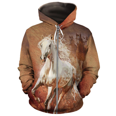 The Racing Horse All-over Hoodie