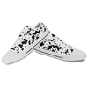 Cow Pattern Canvas Low Top Shoes