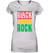 Black Fathers Rock T shirt