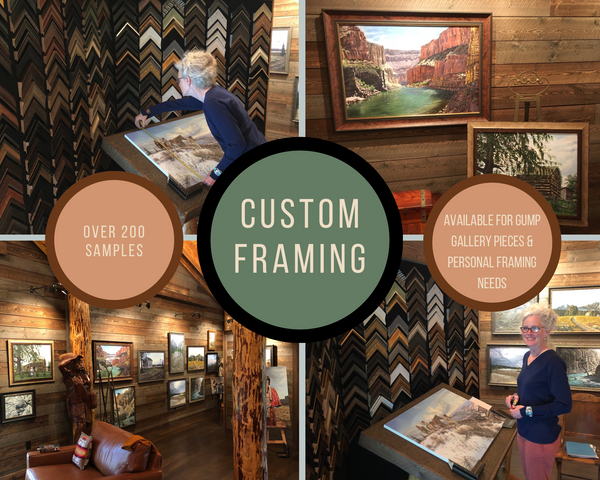 Custom Framing Gump Gallery