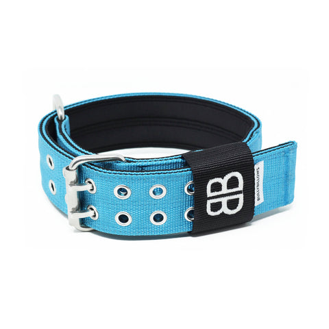 5cm Sporting Dog Collar - NO Handle - Light Blue
