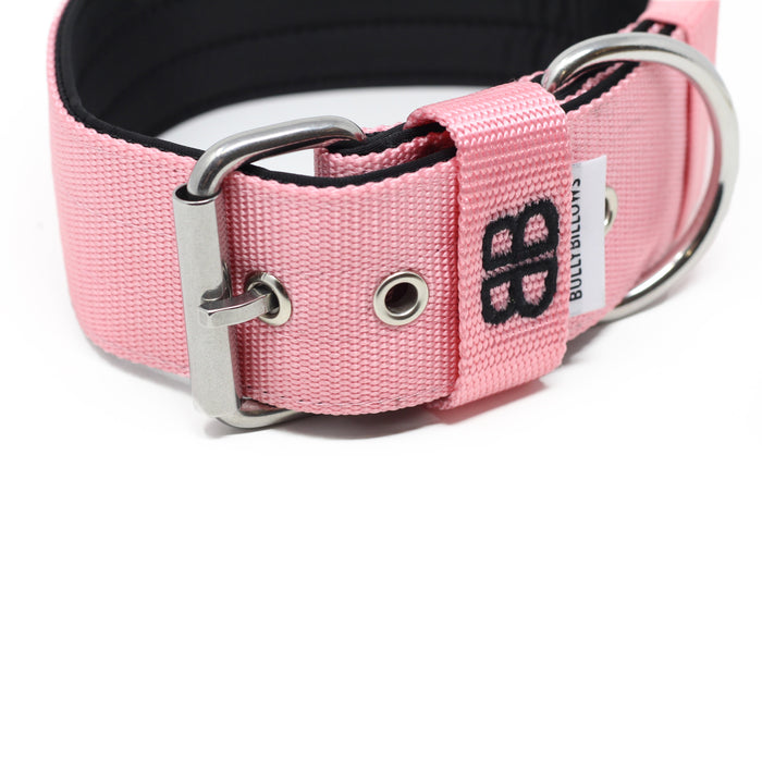 5cm Nylon Dog Collar - Pink v2.0