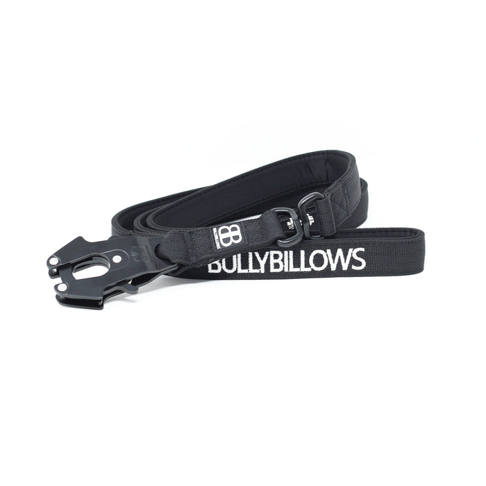 Swivel Combat Dog Lead - Black
