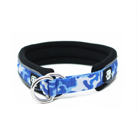 3cm RR - CAMO Blue Dog Collar