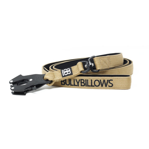 Swivel Combat Dog Lead - Military Tan