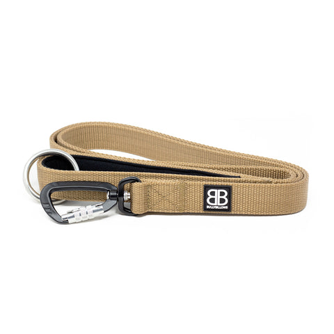 Nylon Sporting Dog Lead - Military Tan