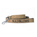 Nylon Snap Hook Lead - Military Tan