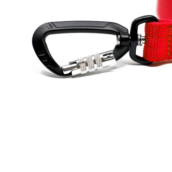 Nylon Sporting Lead - Red