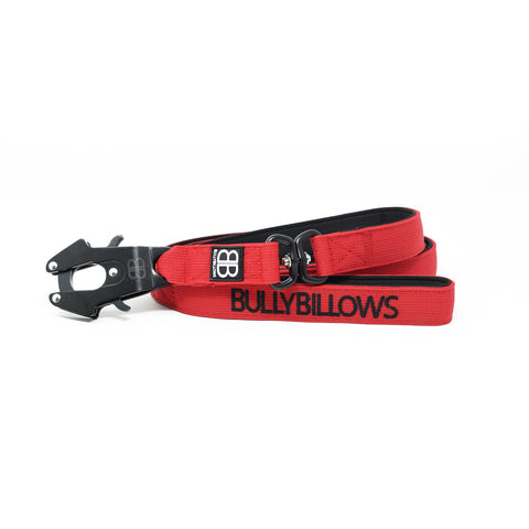 Swivel Combat Dog Lead - Red