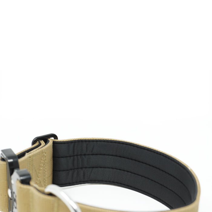 5cm Combat Collar - NO HANDLE - Military Tan
