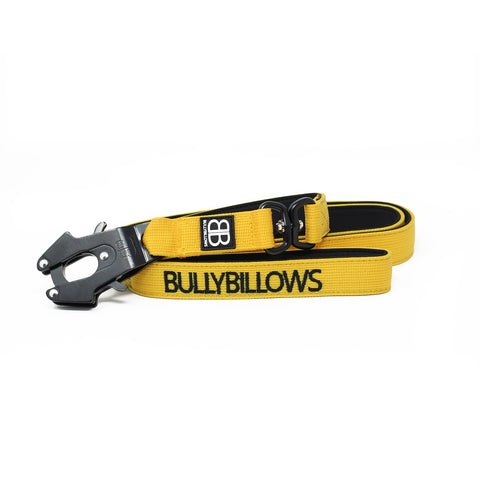 Swivel Combat Dog Lead - Mustard Yellow