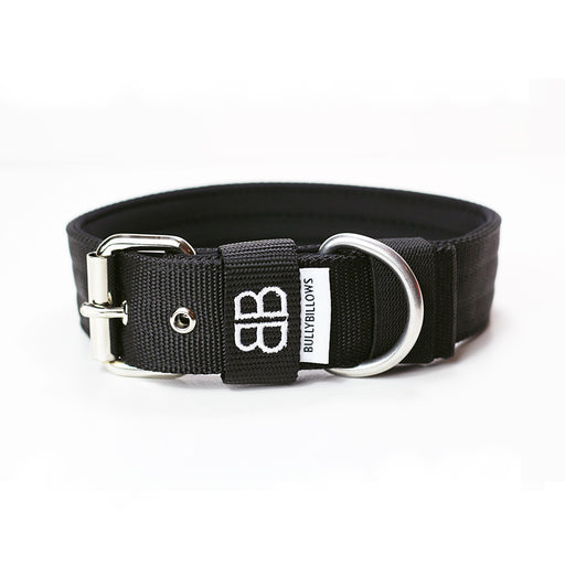4cm Nylon Collar - Black