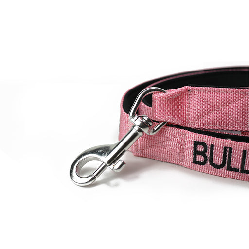 Nylon Snap Hook Lead - Pink