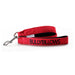 Nylon Snap Hook Lead - Red
