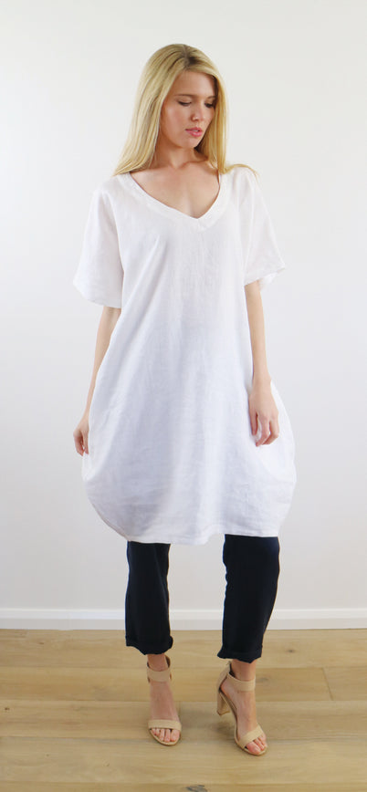 AKIKO DRESS white LIMITED STOCK!