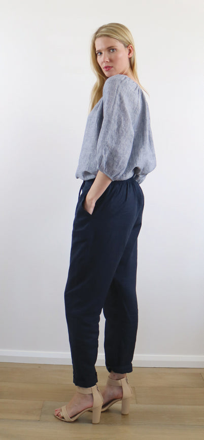 CHLOE PANT ink navy ONLY 2 LARGE LEFT!