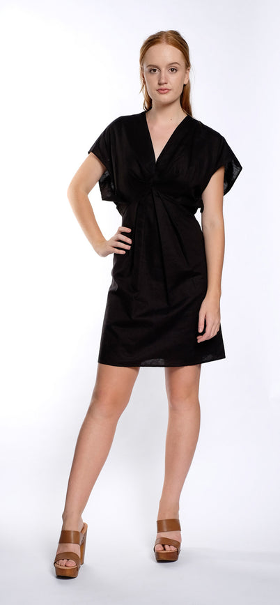 HOSHIMI DRESS black LIMITED STOCK