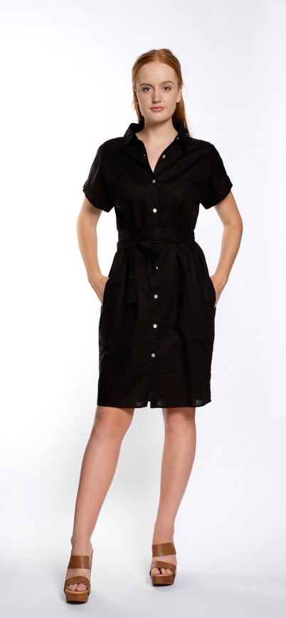 MABEL DRESS black